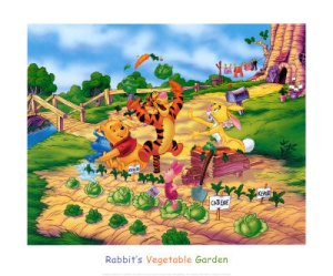 fd1370rabbit-s-vegetable-garden-posters